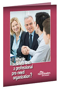 Marketing Organization Brochure