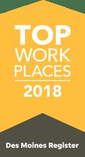 Top Workplaces 2018, Des Moines Register