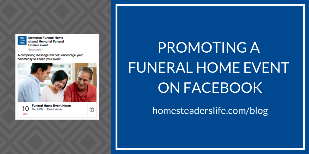 Promoting a Funeral Home Event on Facebook