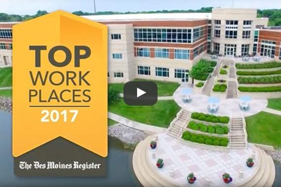 Top Iowa Workplaces 2017